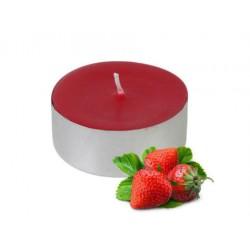 100 lü Tealight Mum - Kırmızı