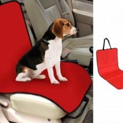 Evcil Hayvan Tekli Araç Koltuk Kılıfı - Kırmızı