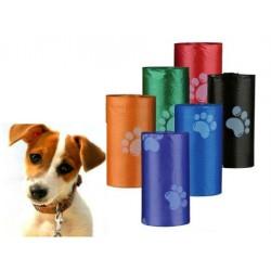 Evcil Hayvanlar İçin Pati Desenli 3 adet  Kaka Poşeti