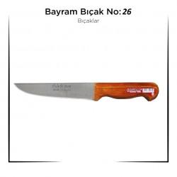 Bursa Bıçağı Bayram Kurban Bıçağı Yemek Bıçağı No : 26