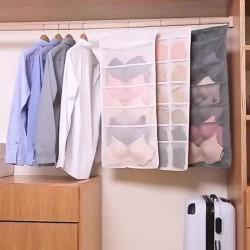 Dolap İçi Asılabilir İç Çamaşırı Dolap Düzenleyici - 15 Gözlü