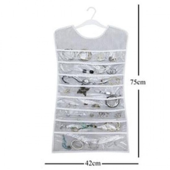 Elbise Şeklinde Mücevher Takı Aksesuar Düzenleyici - Çizgili