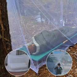 Kamp - Balkon- Bebek- Yatak Cibinlik Tül Çift Kişilik Çantalı