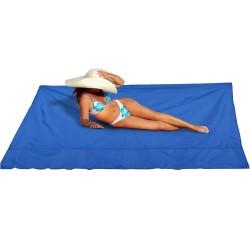 Katlanır Kamp Çadırı Gölgelik Güneşlik Tente Branda Piknik Örtüsü Kamp Çadır Plaj Yer Matı - SİYAH