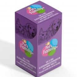 Kedi Glucosamin Onarıcı Katkısı - Pet's Family 75 Tablet