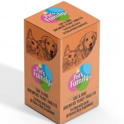 Kedi Tüy Geliştirici Tablet Brewers Pet's Family 75 Adet