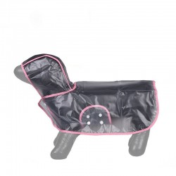 Köpek Yağmurluğu - Pembe - (X Small)