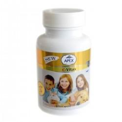 Kediler İçin C Vitamini - Antioksidan C-Vitax Tablet 75 Adet