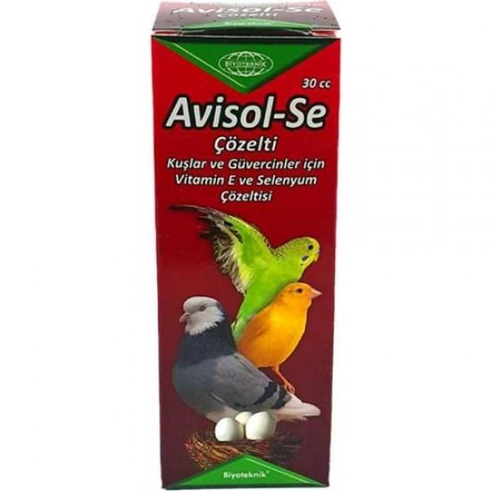 Muhabbet Kuşu E - H Vitamini ve Selenyum Avisol - Se