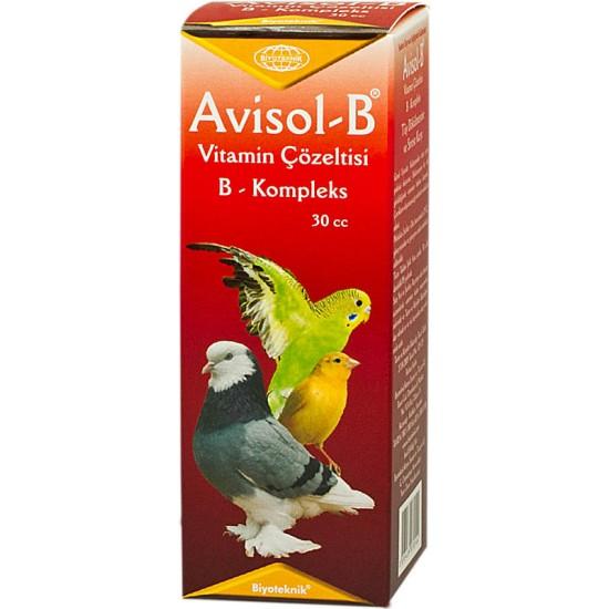 Muhhabet Kuşu İçin Tüy Dökülmesine Karşı B Vitamini - Avisol-B