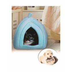 Pet Hut Polar Kedi ve Köpek Yatağı - Mavi