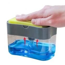 Pompa Mekanizmalı Sünger Hazneli Sıvı Sabunluk