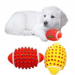 Rugby Köpek Isırma Topu - Düdüklü At Getir Oyuncak Top